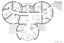 House plans - Vaalrus
