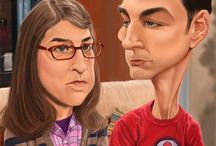 The Big Bang Theory caricatures
