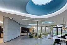 SAP Inovation Center Potsdam / Das SAPInnovationCenter in Potsdam entwicklen dort ihre Software in Zusammenarbeit mit ihren Geschäftskunden. So lässt es sich arbeiten, wenn die Architektur und das Interior Design stimmen.