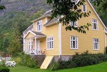 Norway / Plaatsen in Noorwegen waar we geweest zijn.