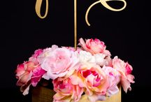 Table settings and numbering- weddings