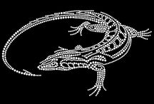 Fashion Transfers / Be different with these fashionable rhinestone transfers on your tshirt or hoodie!!