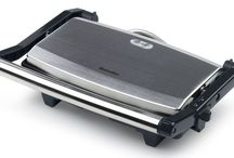 Sandwich Press Maker Grill Pittas Flat Non Stick Plates Toaster Stainless Steel