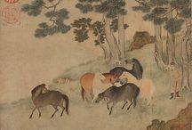 chevaux chinois