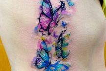 tattoo watercolor butterfly