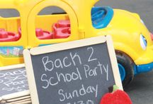 Celebrate good times - - Back 2 School Party / by Sara ColelLa