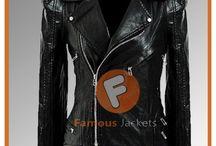 Kate Moss Black Biker Women Jacket