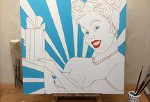 Mijn schilderdoeken
