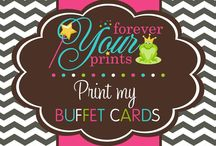 FYP | Printing Services / Let us take the hassle and worry out of your party planning. We will design, print, and ship your party printables to your home saving you money and time! / by Forever Your Prints