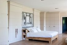Bedrooms / A selection of bedrooms from houses designed by Lionel Jadot