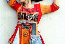 robe tunique recyclage