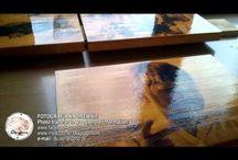Filmy - fotografia na drewnie / Video filmy o mojej fotografii na drewnie