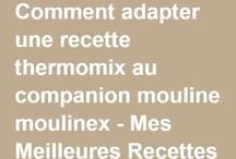adapter recettes Thermomix  compagnon