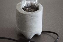 Lampendesign beton