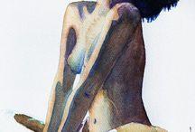 my aquarelles