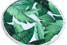 Round Beach Towels by Beach Zeal