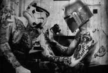 Star Wars Vintage Tattoos / Vintage tattoo art and artists with a Star Wars twist
