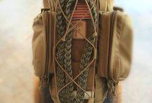 Thirské vojenství / Válečné pomůcky - postroje, nože, obojky. Vše, co potřebujete k obraně, útoku nebo lovu.