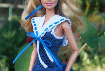 barbie doll clothes / by Judy Roosa
