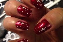 Christmas nails / All things Christmassy