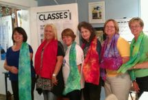 Classes At The Gallery / Our classes are fun & we learn a lot!