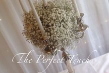 Wedding and Party Centrepieces by The Perfect Touch Grimsby / Here you will see some of our many stunning centrepieces available from The Perfect Touch Grimsby