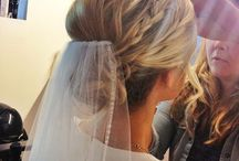 hår,bryllup