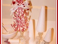 Candy Cane Christmas / Recipes, crafts and decor inspired by and featuring candy canes!