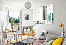 Apartamentos pequenos / by Kaliss Soares