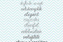 Fonts / by Joy Carver