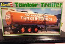 Tanktrailer. / modelbouw