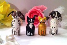 Peg Dolls / by Myra Hinson