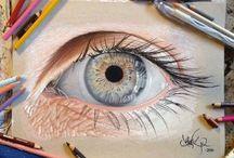 realistisch tekenen en kleuren