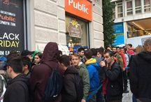 "Black Friday: Πρωτόγνωρες εικόνες στη Θεσσαλονίκη - ""Μάχες"" στην ουρά !!!"
