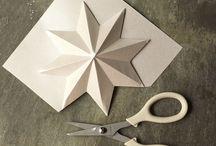 Papir pynt / Ting lavet i papir