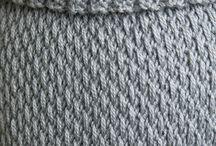 Loom knitting etc.