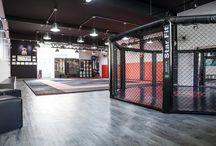 Academia Chiozzi - Alphaville, São Paulo / Projeto de academia de artes marciais.
