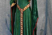 Средневековое платье