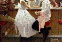 Norman Rockwell / by Linda Abraham