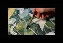 """Inspirations pour mixed media / Pour les """"moments blancs""""... Un trait, une texture, une couleur, un sentiment provoqué, une douceur, une réaction subite, une infime partie ou un tout, un mélange d'attraits... Inspiration!"""