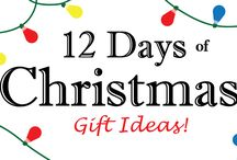 12 Days Of Christmas for Co-Workers / Christmas Gifts for the Executive, co-worker or friend on your list