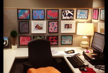 Cubicle Decor / by Maggie Hawkins Villegas