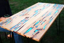 Tables With Resin