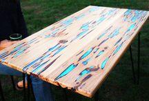 Wooden Resin Furniture