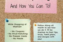 Saving, Budgeting & Frugal Living Tips