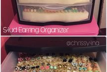 Earrings/stud organiser