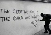 Artist Banksy in Elementary Art / by Artist Carter