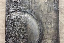 textures: mixed media