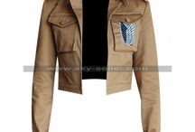 Attack on Titan Shingeki no Kyojin Military Jacket / Get this trendy Attack on Titan Scout Jacket from Sky-Seller at most affordable price with free Shipping.