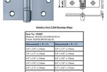 Hinges Series / We are experts on hinges!